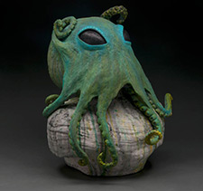 alien octipus sculpture