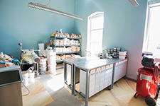A photo of a crafting studio