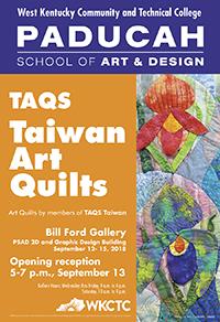 art quilts poster