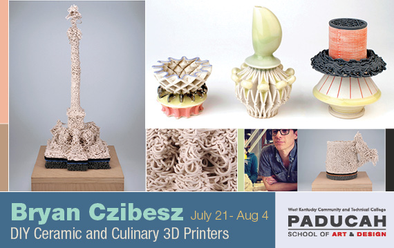 Bryan Czibesz DIY Ceramic and Culinary 3D Printers
