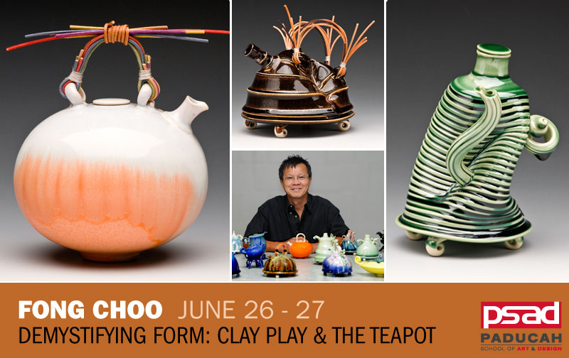 Fong Choo - Demystifying Form: Clay Play and the Teapot