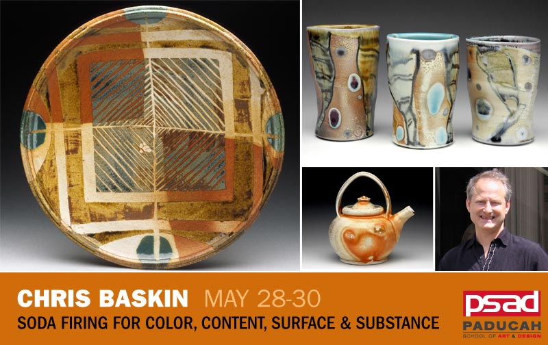 Chris Baskin - Soda Firing for Color, Content, Surface and Substance