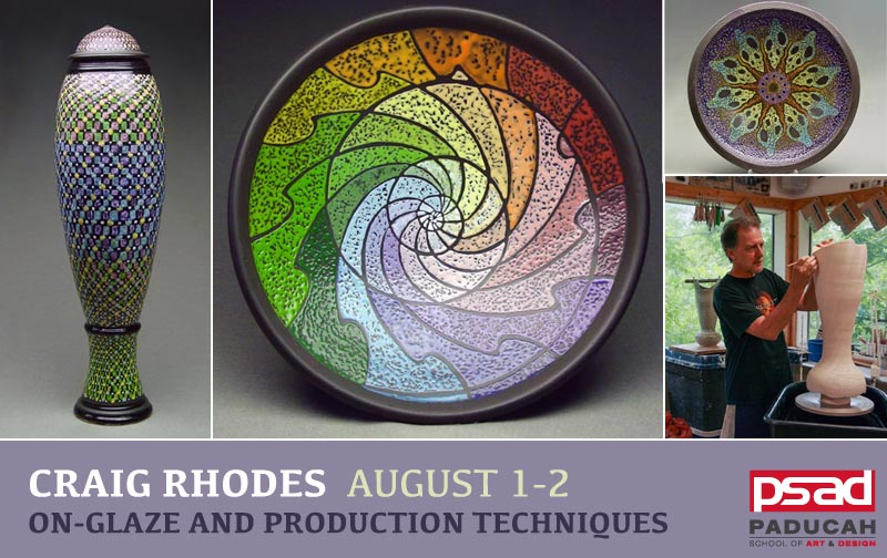 Craig Rhodes - On-Glaze and Production Techniques