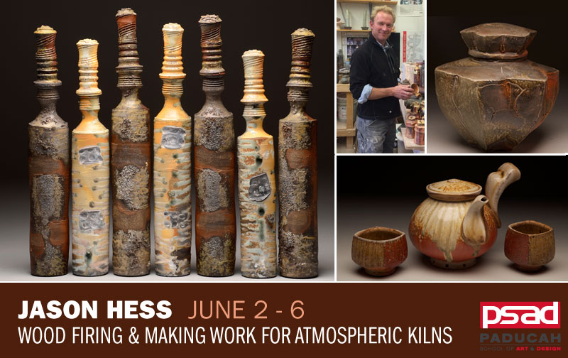 Jason Hess - Wood Firing and Making Work for Atmospheric Kilns